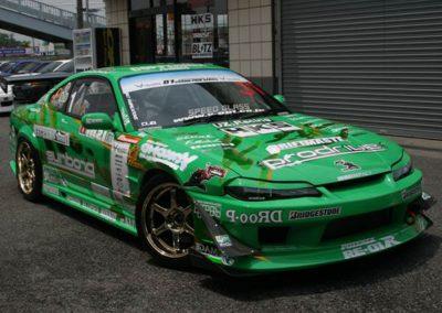 The Original Kei Office Championship Winning D1 GP S15 driven by Kazama