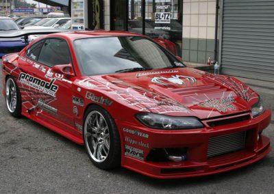Kazama Auto Promode Demo Car S15 Silvia