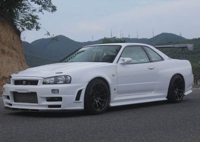 Nissan Skyline BNR34 GT-R with Full Tune Engine for Time attack built by Cruise Power