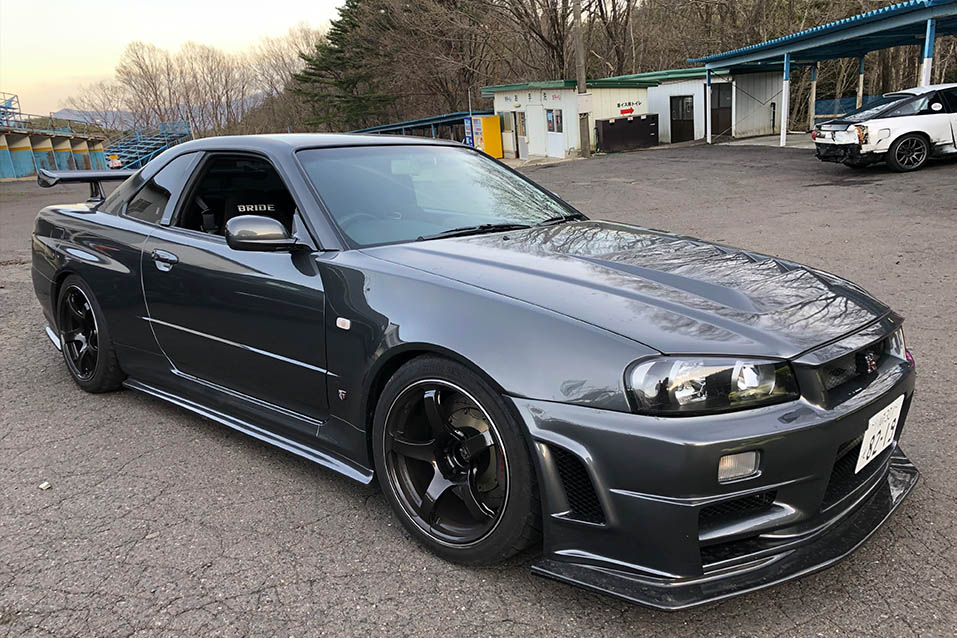 Nissan Skyline BNR34 GT-R Vspec 2 Tuned by RGF for Street / Time attack