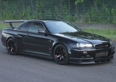 Nissan Skyline BNR34 GT-R with 500 hp Tuned by Midori Sebei Service Center
