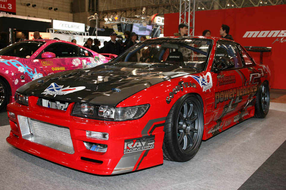 Powervehicles 2006 Tokyo Auto Salon Demo Car with SR2.2