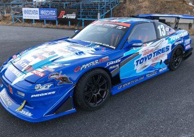 Team Toyo GP Sports Kawabata Driven D1GP Champion RPS13 180sx